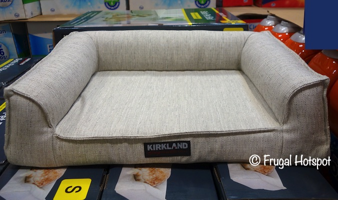 Kirkland Signature Sofa Pet Bed Costco Display