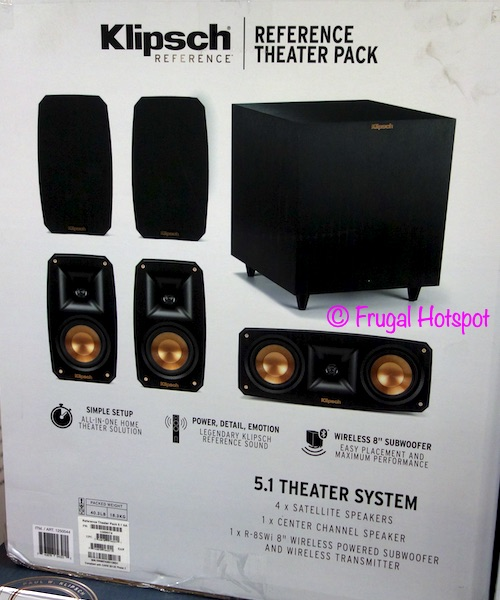 Klipsch Reference Theater Pack Sound System Costco 2