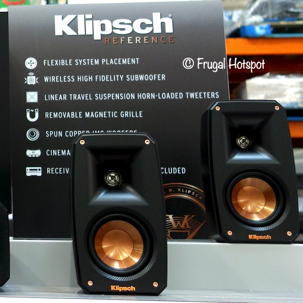 Klipsch Reference Theater Pack Sound System Costco Display
