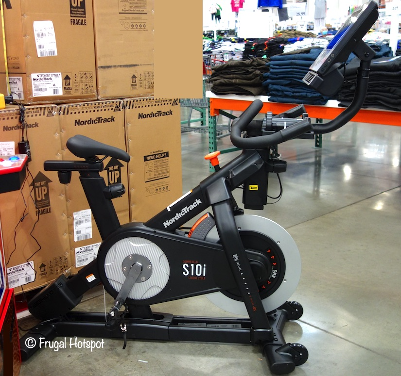NordicTrack Commercial S10i Studio Cycle Costco Display