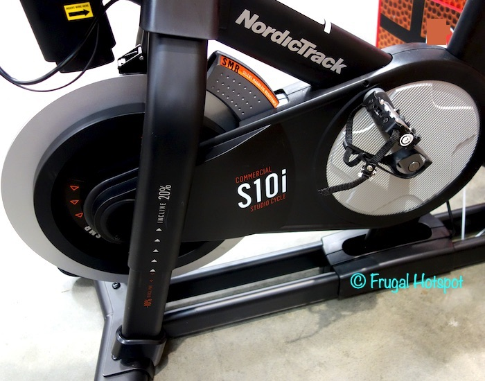 NordicTrack Commercial S10i Studio Cycle Pedal Costco Display