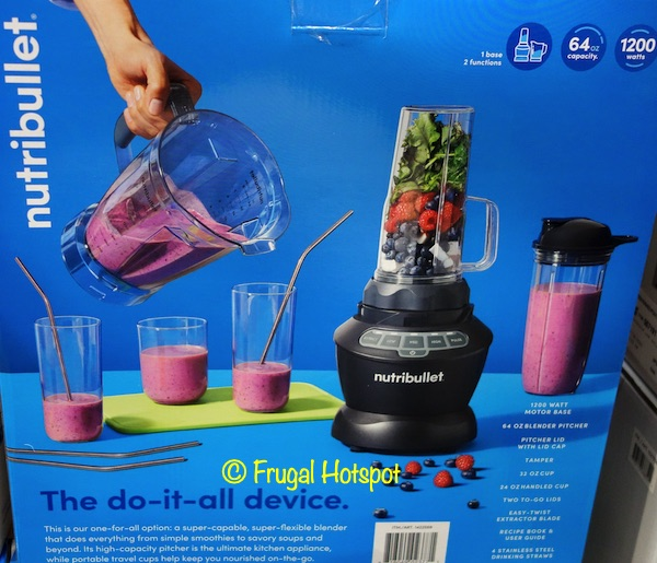 Nutribullet Blender Combo Details Costco
