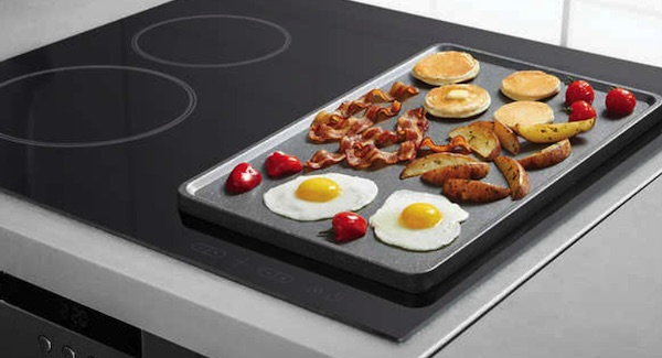 The Rock Reversible Griddle Pan Costco