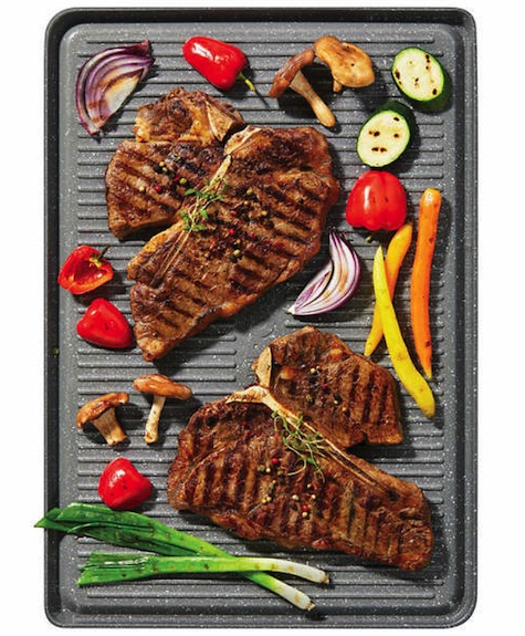 The Rock Reversible Grill Pan Costco