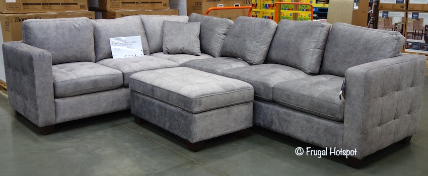 Thomasville Kylie Fabric Sectional Costco Display