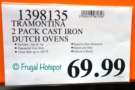 Tramontina Cast Iron Dutch Oven Costco Price