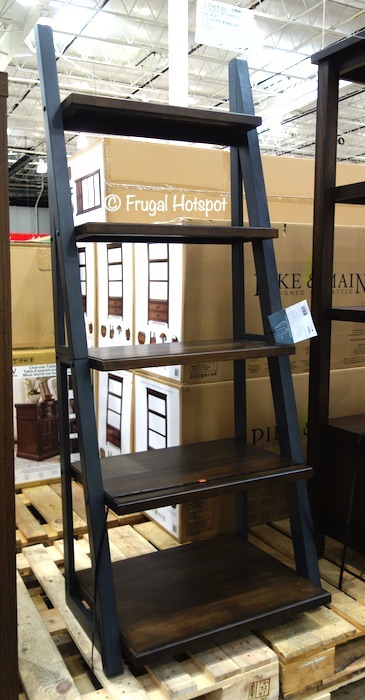 Whalen Bayside Furnishings Ashcroft 72 Ladder Bookcase Costco Display