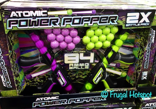 Atomic Power Popper 2-Pack Power Launcher and Foam Balls. | Costco
