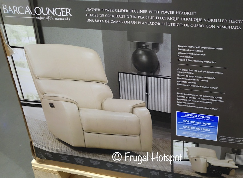 Barcalounger Leather Power Recliner | Costco