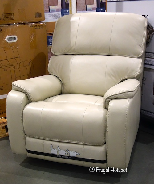 Barcalounger Leather Power Recliner | Costco Display