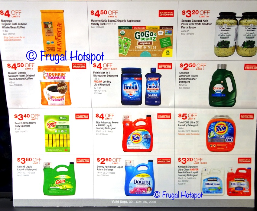 Costco OCTOBER 2020 Coupon Book | Page 8