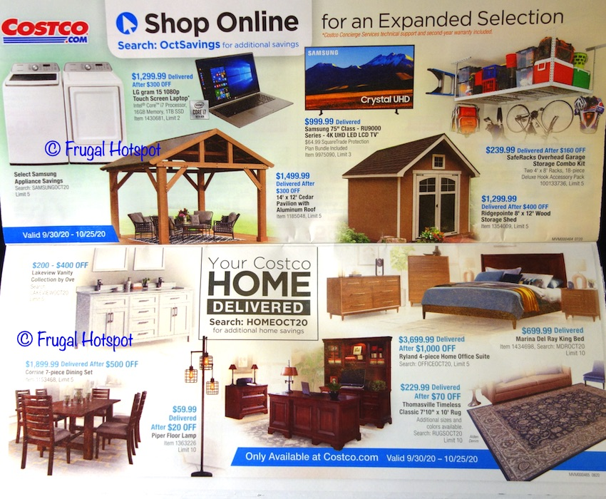 Costco OCTOBER 2020 Coupon Book | Page 11