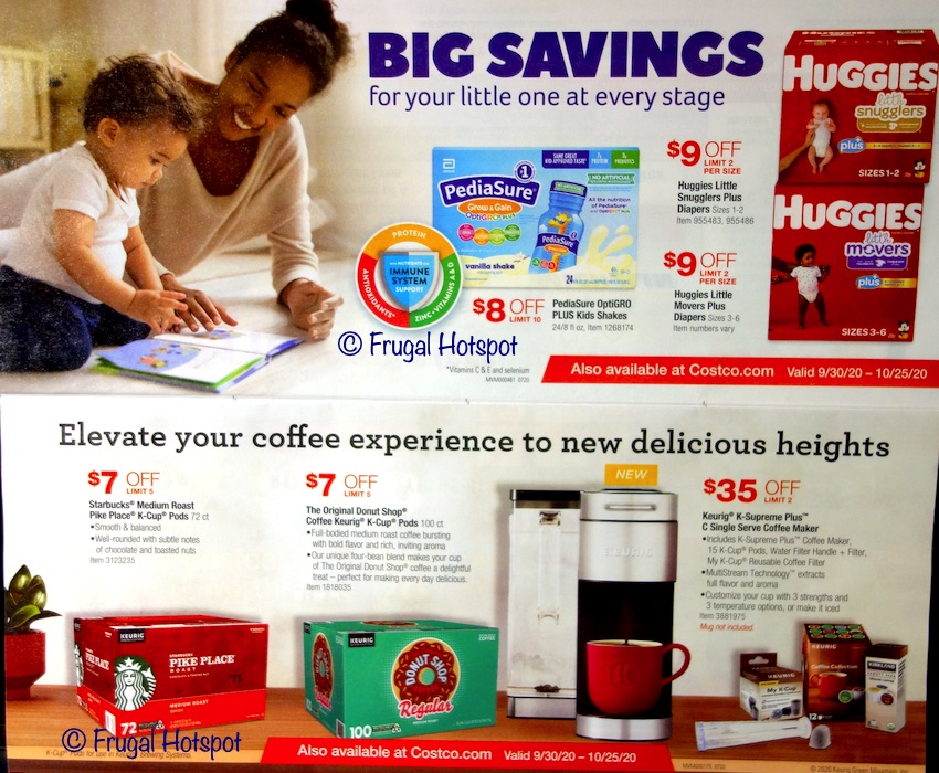 Costco OCTOBER 2020 Coupon Book | Page 2