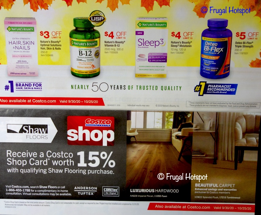 Costco OCTOBER 2020 Coupon Book | Page 3
