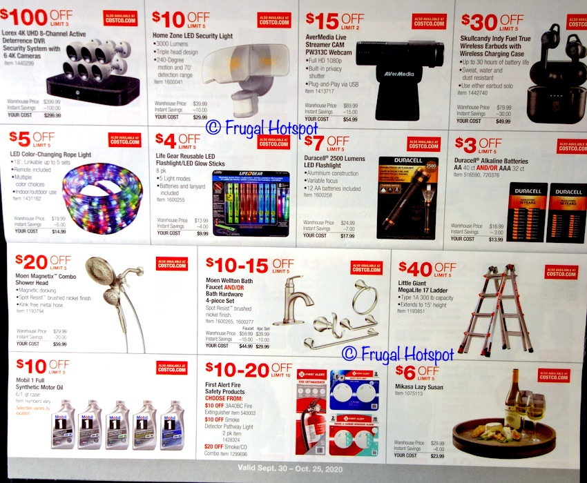 Costco OCTOBER 2020 Coupon Book | Page 5