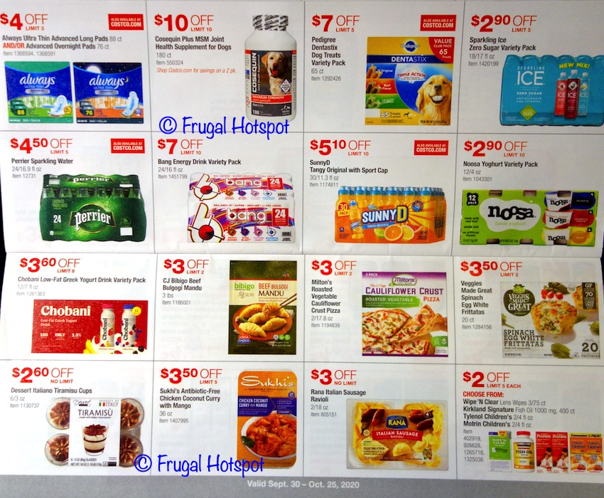 Costco OCTOBER 2020 Coupon Book | Page 9