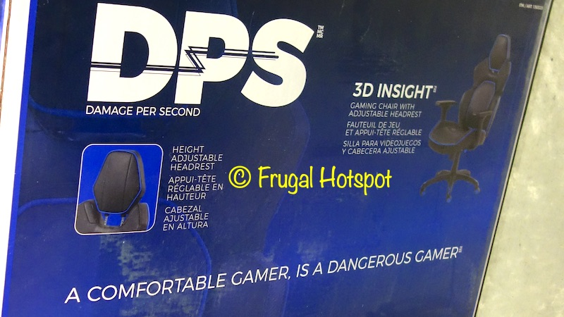 DPS 3D Insight Gaming Chair Blue | Costco
