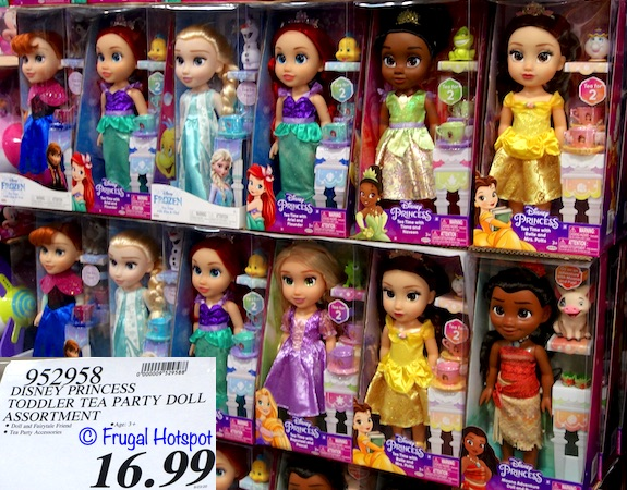 Disney Princess Tea Time Doll with Fairytale Friend and Accessories | Costco