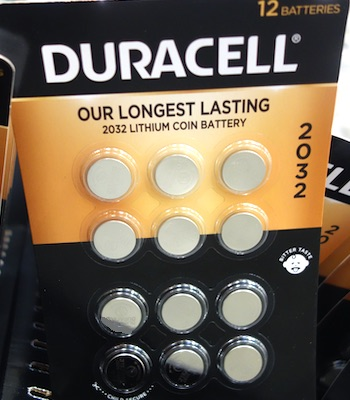 Duracell Lithium 2032 Coin Batteries | Costco