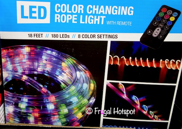 Global Value Lighting LED Color Changing Rope Light | Costco 2020