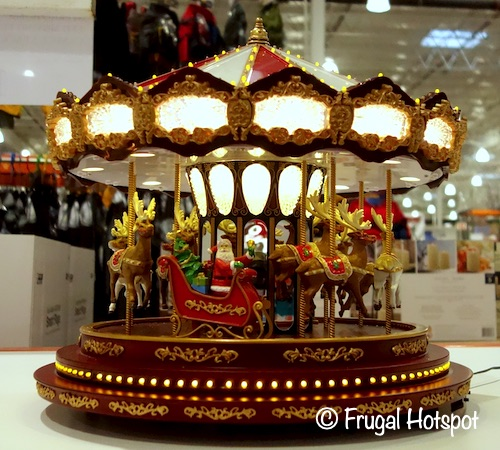 Holiday Carousel with Animation and LED Lights | Costco