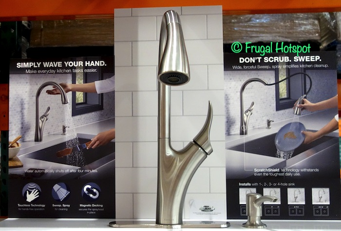 Kohler Transitional Touchless Pull-Down Kitchen Faucet | Costco Display