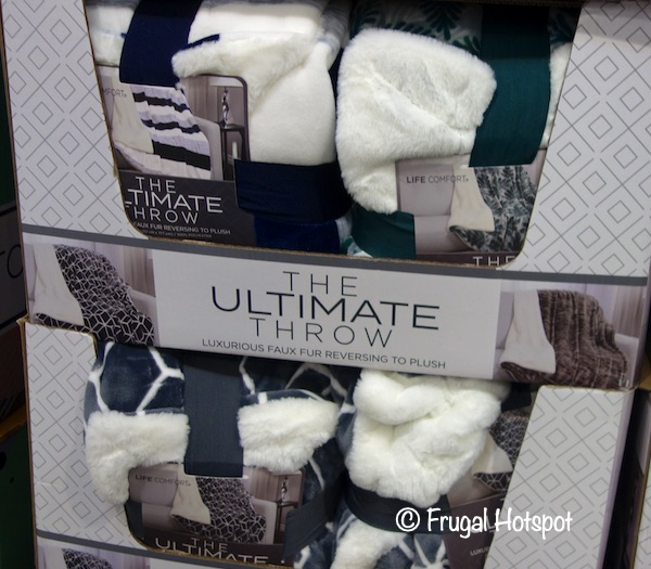 Life Comfort The Ultimate Throw | Costco 2
