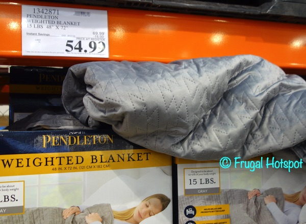 Pendleton 15 Lb Weighted Blanket | Costco Sale Price