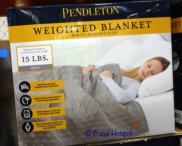 Pendleton 15 Lb Weighted Blanket | Costco