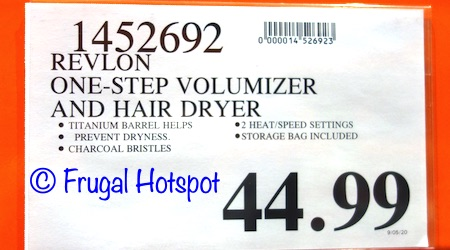 Revlon One-Step Volumizer | Costco Price