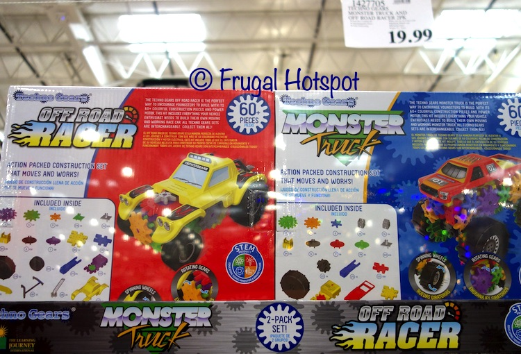 Techno Gears Monster Truck AND Off Road Racer | Costco
