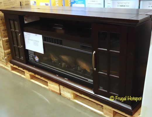 Tresanti Mayson Fireplace Console | Costco Display