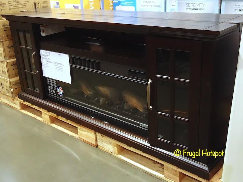 Tresanti Mayson Fireplace Console | Costco Display