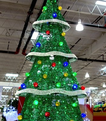 72 Holiday Tree with Lights | Costco Display