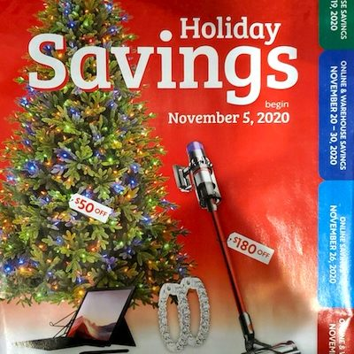Costco Holiday Savings Coupon Book | November 2020 | Cover Page 1