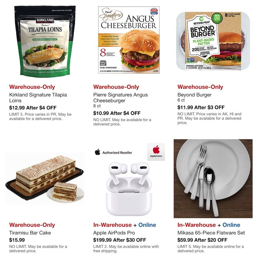Costco Hot Buys Sale October 2020 P2