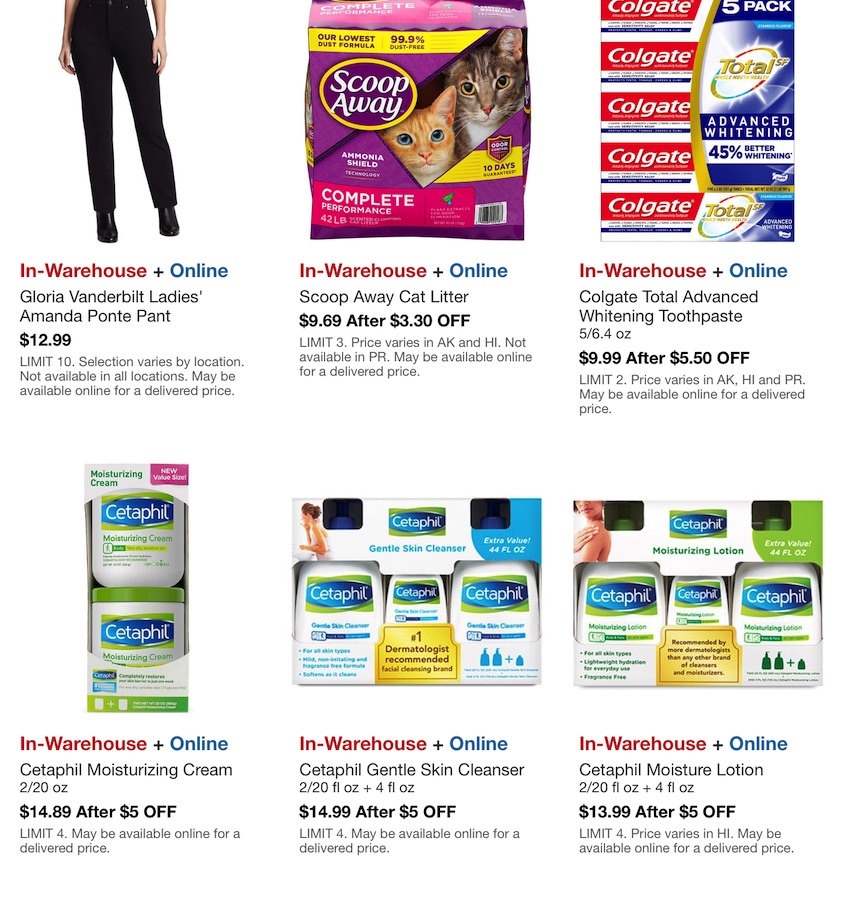 Costco Hot Buys Sale October 2020 P4