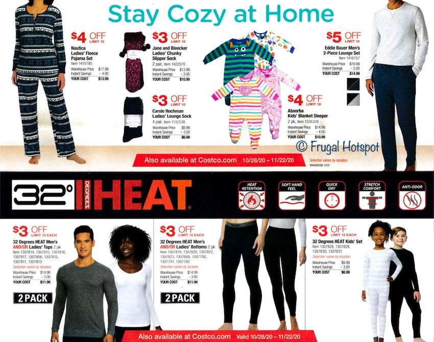 Costco NOVEMBER 2020 Coupon Book Page 2