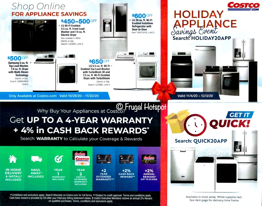 Costco NOVEMBER 2020 Coupon Book Page 3