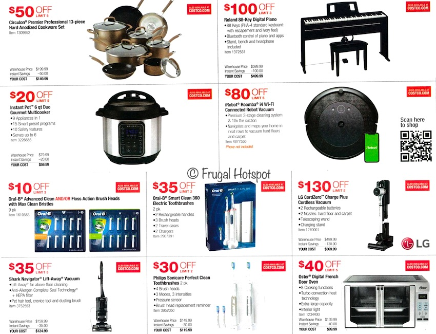 Costco NOVEMBER 2020 Coupon Book Page 4