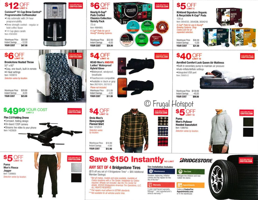 Costco NOVEMBER 2020 Coupon Book Page 5