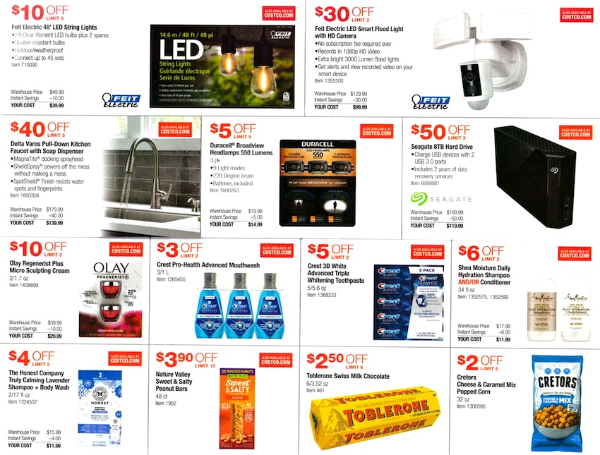 Costco NOVEMBER 2020 Coupon Book Page 6