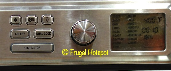 Cuisinart Digital AirFryer Toaster Oven Buttons | Costco
