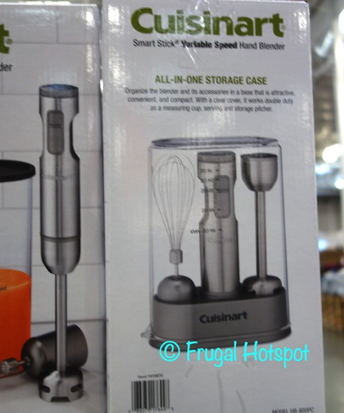 Cuisinart Smart Stick Variable Speed Hand Blender HB-800PC Storage Case | Costco