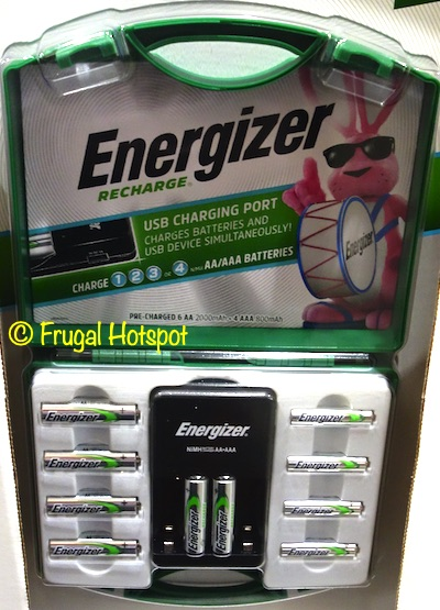 Energizer Rechargeable Battery Combo | Costco Item 1447989