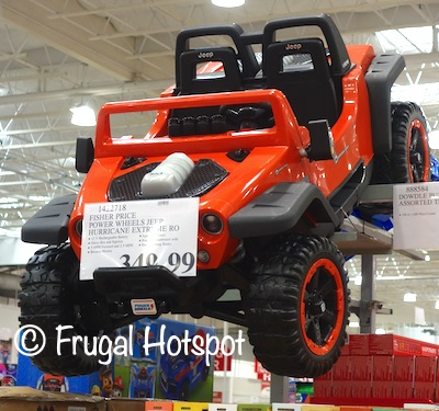 Fisher Price Power Wheels Jeep Hurricane Extreme | Costco