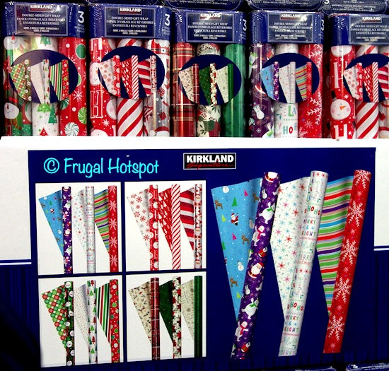 Kirkland Signature Double-Sided Wrapping Paper | Costco