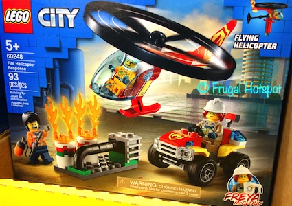 Lego City Fire Helicopter Response | Costco
