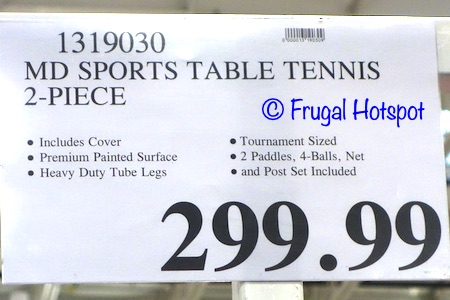 MD Sports Table Tennis Table | Costco Price