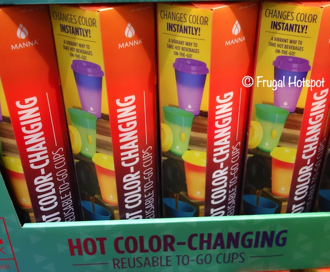Manna Hot Color-Changing Reusable To Go Cups | Costco